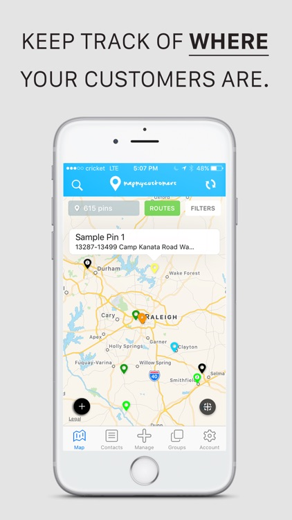 Map My Customers - Sales CRM