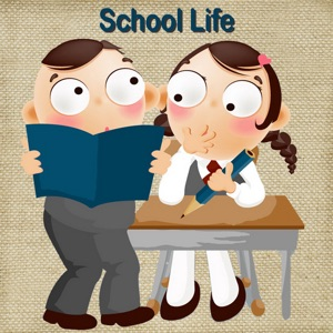 My School Story - Baby Learning English Flashcards