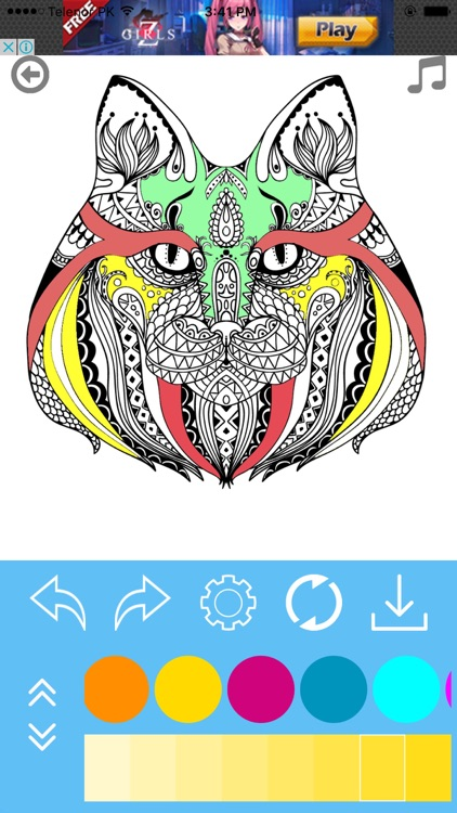 Adult Coloring Book for Stress Releaved screenshot-4