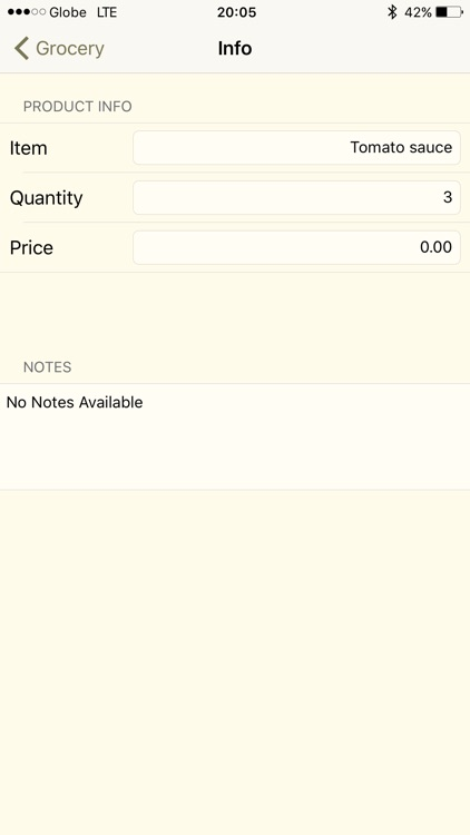 Tiny Shopping List screenshot-3
