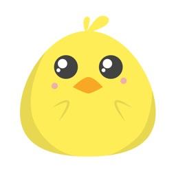 Big Eyed Chick - Sticker Pack