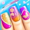 时尚指甲设计 - 女孩游戏: 惊人的指甲艺术设计