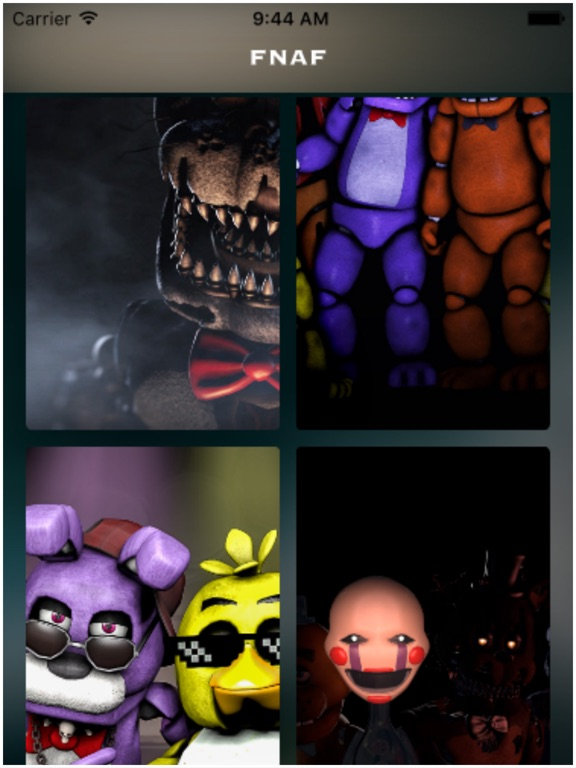 Screenshot #1 for wallpapers for FNAF - Five Nights at Freddy filter ...