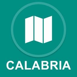 Calabria, Italy : Offline GPS Navigation