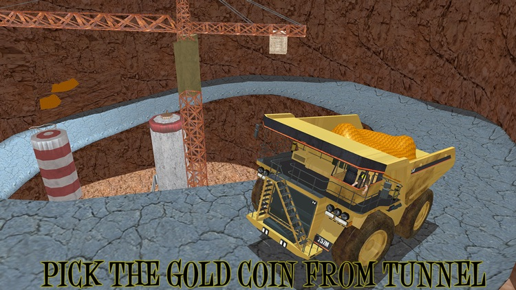 Gold Miner Real Rush Digger: Truck Drive 3D screenshot-2