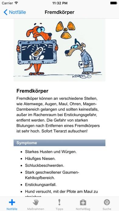 Screenshot for Erste Hilfe für Hunde in Germany App Store
