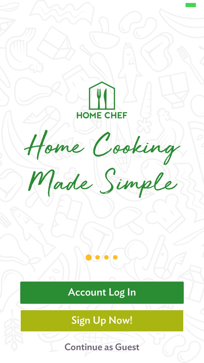Home Chef: Meal Kit Delivery Screenshot