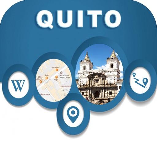 Quito Eucador Offline City Maps with Navigation