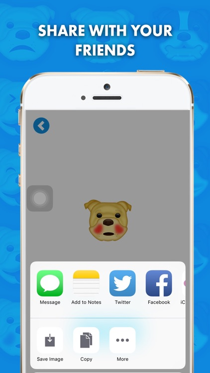 BullieMoji - Bulldog Emoji & Stickers screenshot-1