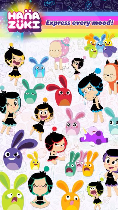 Hanazuki Stickers screenshot three