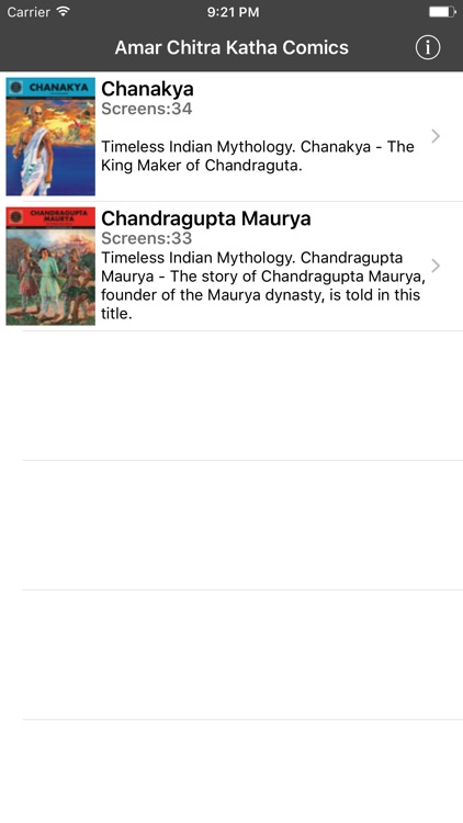 Chanakya - Double Digest- Amar Chitra Katha Comics screenshot-1