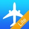 Plane Finder Free shows live moving planes on a worldwide map