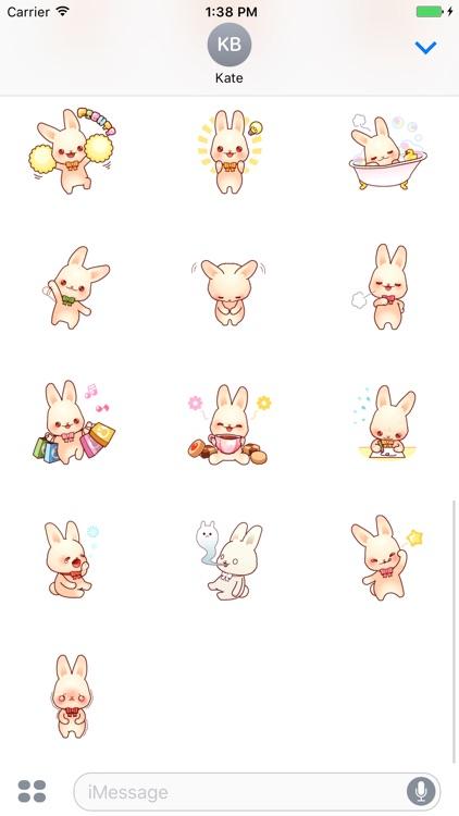 Bunny Lola stickers pack screenshot-3