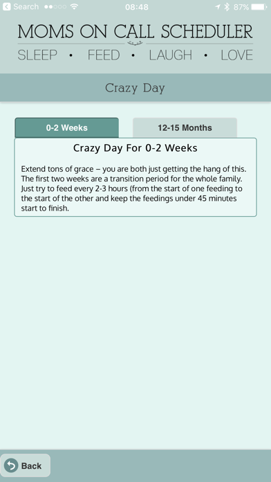 Screenshot for Moms On Call Scheduler in United States App Store