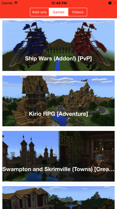Screenshots of TNT Add Ons Mini Games For Minecraft PE for iPhone