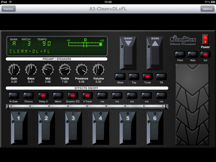 StompBox Lite screenshot-1