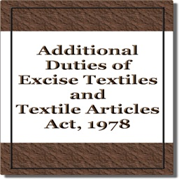 Additional Duties of Excise Act