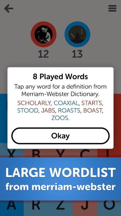 Letterpress – Word Game screenshot-4