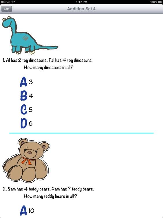Word Problems Grades 1-2 screenshot-3