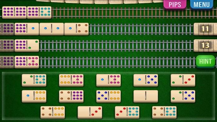 Mexican Train Dominoes (Dominos) Screenshot