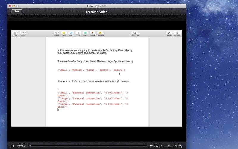 LearnFor iPython screenshot 3