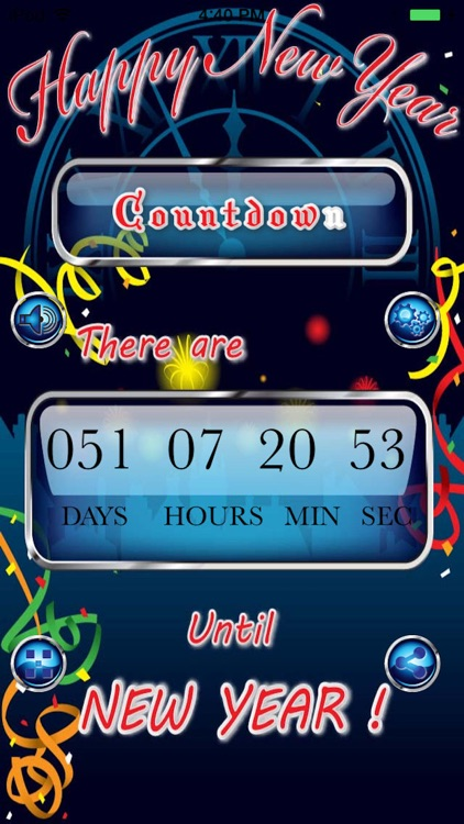 Happy New Year Countdown Begins Free