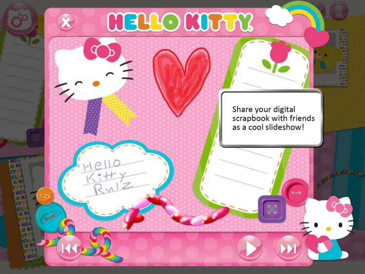 Hello Kitty Scrapbook Spectacular screenshot-4