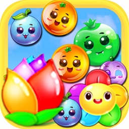 Fruit Crush Link 2017 - Candy Match 3 Puzzle Game