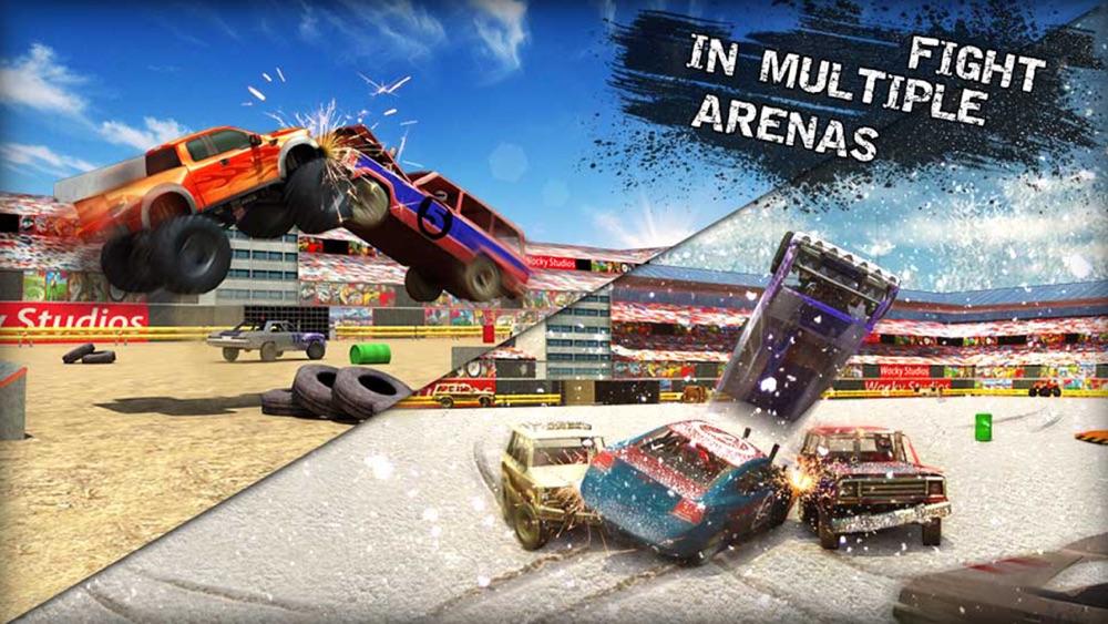 Xtreme Demolition Derby Racing Car Crash Simulator Cheat Codes