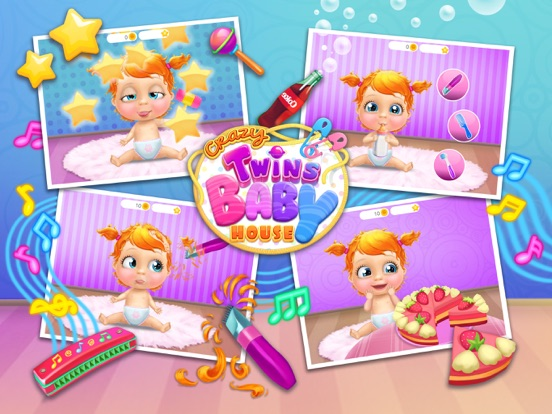 Crazy Twins Baby House - No Ads screenshot 9