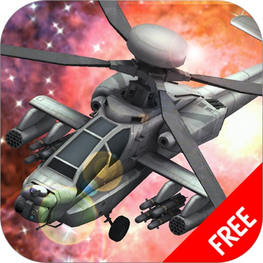 A Battle Gunship Space War : Helicopter in Action iOS App