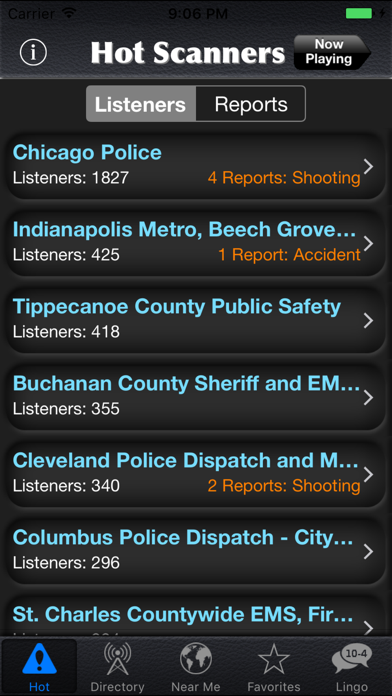 Police Scanner Radio review screenshots