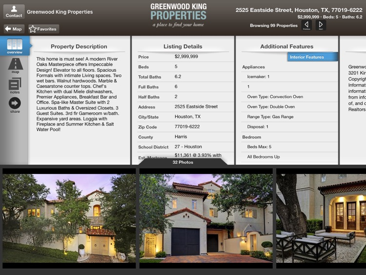 Greenwood King Properties Mobile for iPad screenshot-3