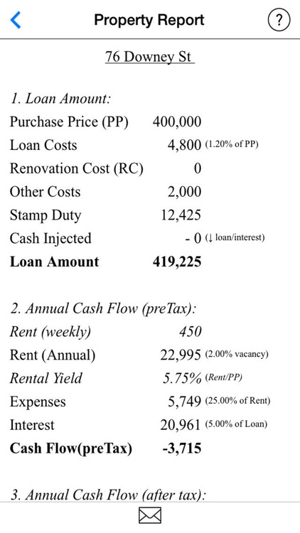 Rental Property Selector (Rental Yield Calculator) screenshot-4