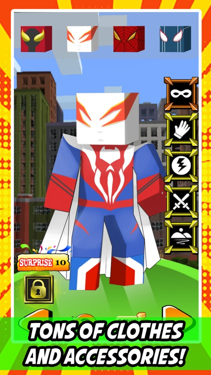 create your own superhero for spider man by manassavee kochatchawan