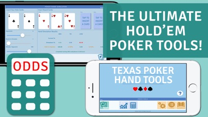 Poker Hands Tools: Texas Hold Em Odds Calculator Screenshot