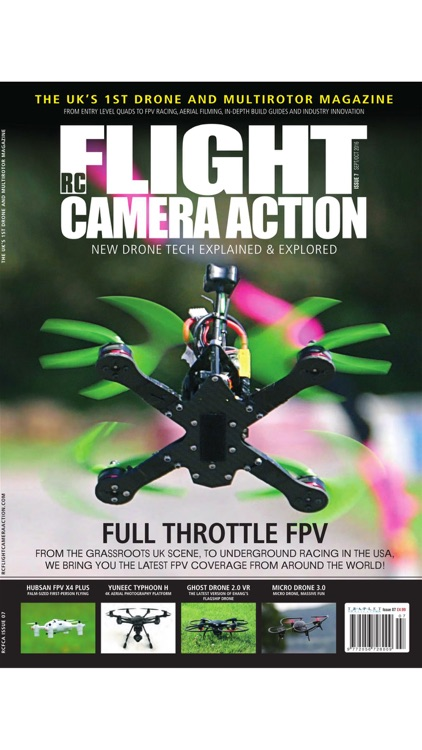 RC Flight Camera Action - New Rotor & Drone Tech Explained & Explored screenshot-4