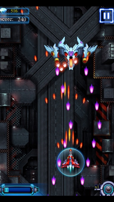 Sky Space Attack Fighter screenshot two