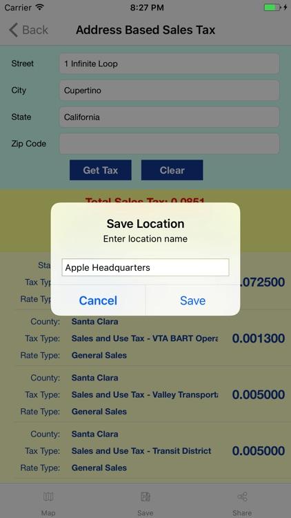 Streamline Sales Tax Rates screenshot-4