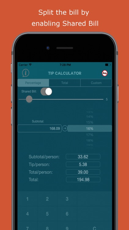 EZPZ Tip Calculator