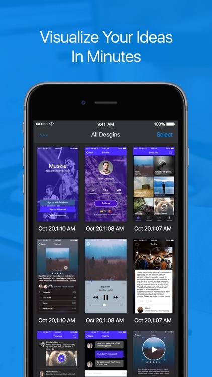 Inspr Pro - Mock-up app designs and prototype screenshot-4