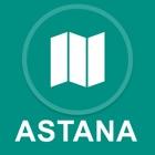 アスタナ、カサフスタン : オフラインGPSナヒケーション icon