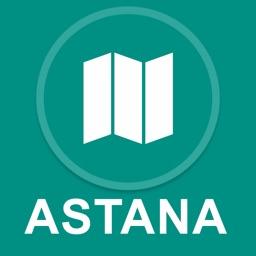 Astana, Kazakhstan : Offline GPS Navigation