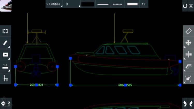 CAD On The Go - edit 2D/3D AutoCAD DWG/DFX files screenshot-3