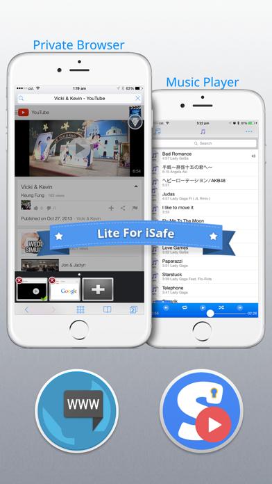 Lite for iSafeのおすすめ画像4