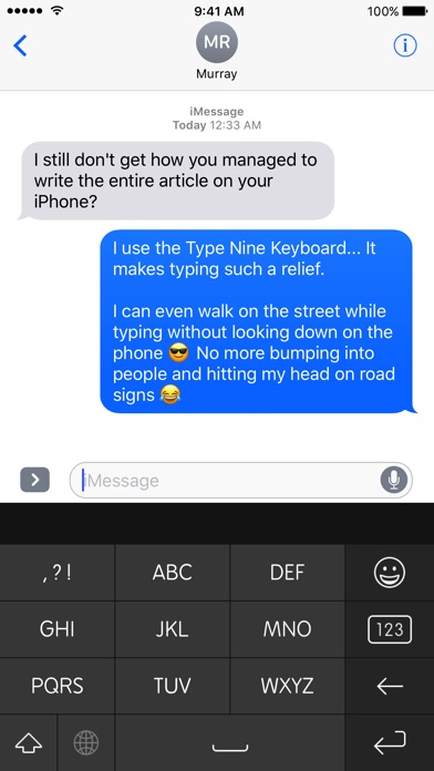 Type Nine - T9 Keyboard Screenshot