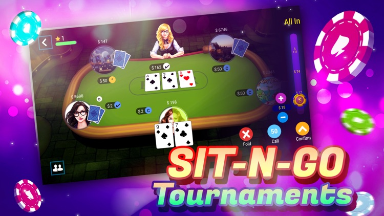 TEXAS HOLDEM POKER ONLINE+ screenshot-3