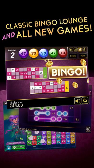 Bingo Lounge 2 - Real Money UK Gambling Casino screenshot two