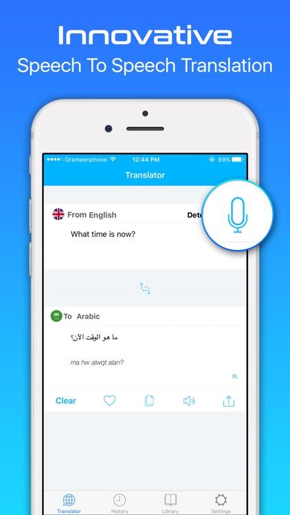 Translate It - Translator & Offline Dictionary App