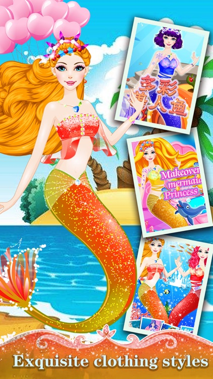 Undersea mermaid - Miss Beauty Queen Salon